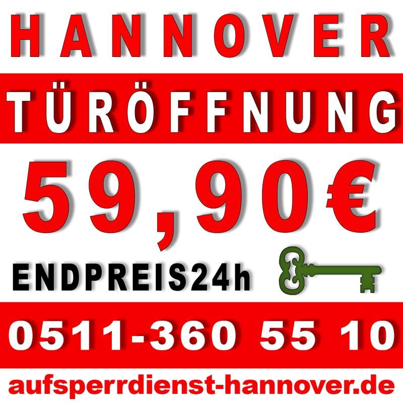 Schlüsseldienst, Aufsperrdienst Hannover